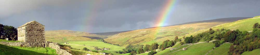 Double Rainbow in Swaledale